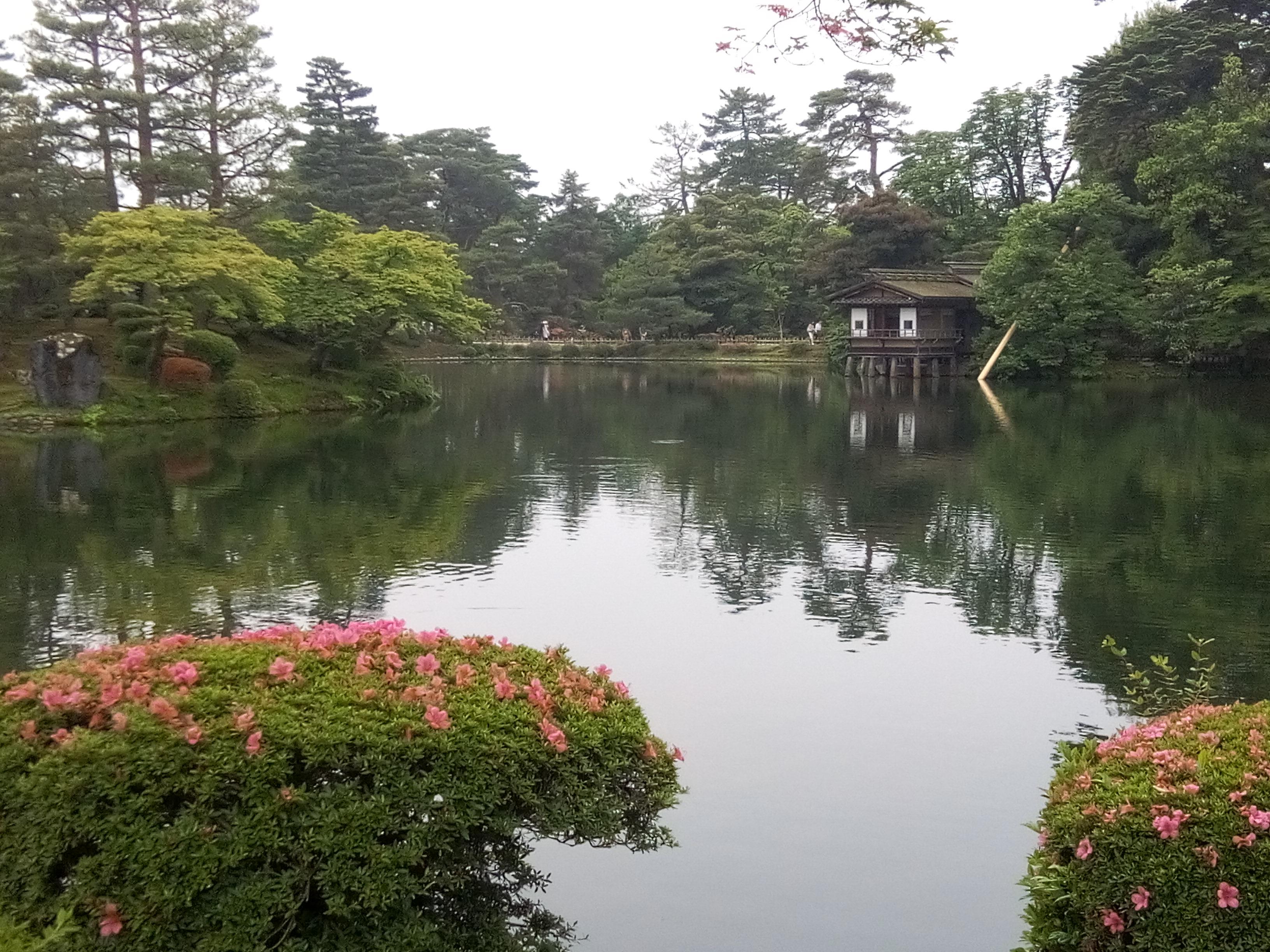 Il est considéré comme l'un des trois plus célèbres jardins du Japon